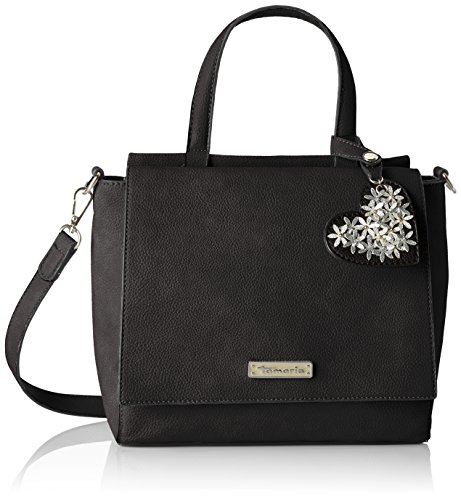 Tamaris Milla Handbag - Bolsos maletín Mujer Negro (Black)