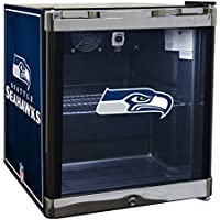 Glaros Officially Licensed NFL Beverage Center / Refrigerator - Seattle Seahawks