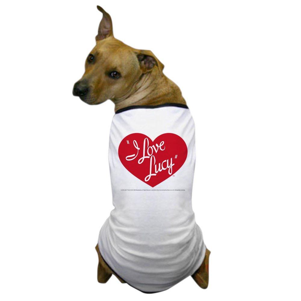 CafePress - I Love Lucy: Logo - Dog T-Shirt, Pet Clothing, Funny Dog Costume