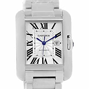 Cartier Tank Anglaise automatic-self-wind mens Watch W5310009 (Certified Pre-owned)