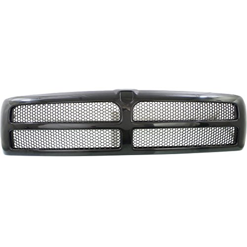 Grille for Dodge Full Size P/U 94-02 Honeycomb Insert Textured Black (Dodge Grille Inserts Ram)
