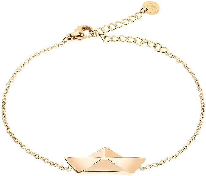 PAUL HEWITT Armkette Damen Gold Ahoy Edelstahl Armband