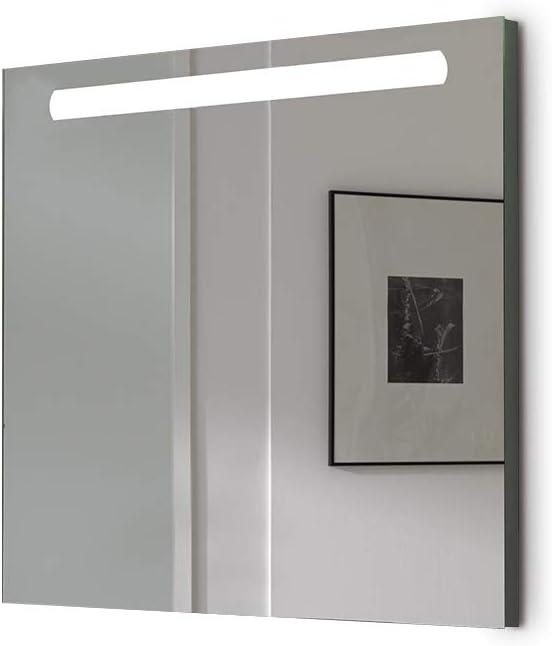 Espejo baño con Luz SHINE 80x70cm 6 W Led 864Lumenes, 6 w 5700kluz ...