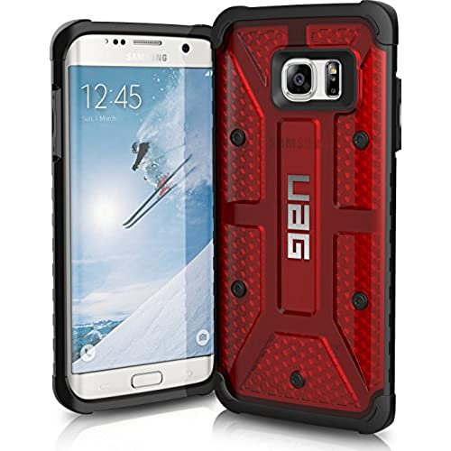 UAG Samsung Galaxy S7 Edge [5.5-inch screen] Feather-Light Composite [MAGMA] Military Drop Tested Phone Case Sales