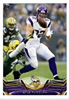 2013 Topps Football Card #258 Kyle Rudolph - Minnesota Vikings - NFL Trading Cards