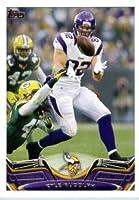 2013 Topps Football Card #258 Kyle Rudolph - Minnesota Vikings - NFL Trading Cards