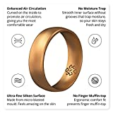 Knot Theory Silicone Wedding Rings for Men and