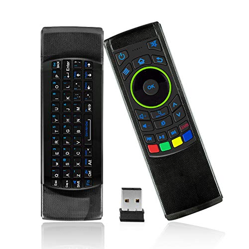 Calvas 2.4G Remote Control Air Mouse Wireless Keyboard For XBMC Android Mini PC TV Box April11
