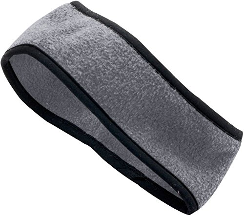 Augusta Sportswear Chill Fleece Sport Headband OS Charcoal Heather