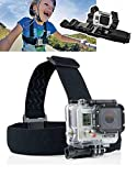 ProGear Adjustable Kids Chest And Head Mount Bundle For GoPro Hero 4/3+/3/2/1 Session Ages 3-14