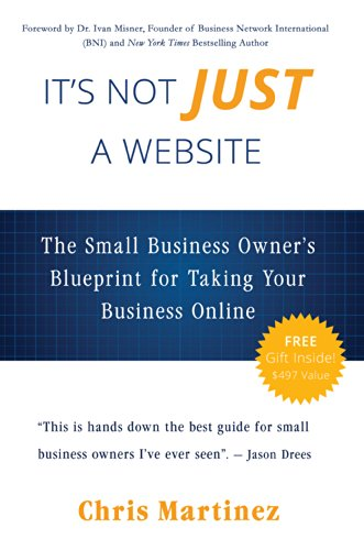 Its not just a website the small business owners blueprint for its not just a website the small business owners blueprint for taking your business online malvernweather Choice Image