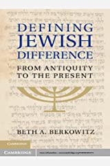 Defining Jewish Difference: From Antiquity to the Present Kindle Edition