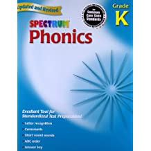 Spectrum Phonics, Kindergarten