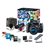 Canon T6i Video Creator Kit with EF-S 18-55mm f/3.5-5.6 IS STM Lens, Rode VIDEOMIC GO Microphone, 32GB SDHC Card - Bundle with Filters, Remote Trigger, Camera Case. Cleaning Kit, Pro Software