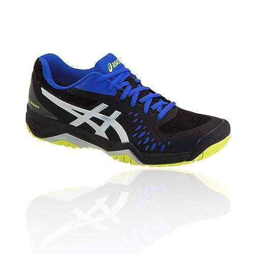 2b4252ed70d64 ASICS Gel-Challenger 12 Tennis Shoes - SS19 Black  Amazon.co.uk ...