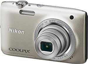 Nikon Coolpix S2800 20.1 MP Point and Shoot Digital Camera with 5x Optical Zoom by eBasket