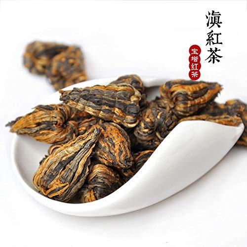 Dian Hong Pagoda Tower Shape Yunnan Handmade DianHong Black Tea XiaoHongTa 250G China Dianhong Cha