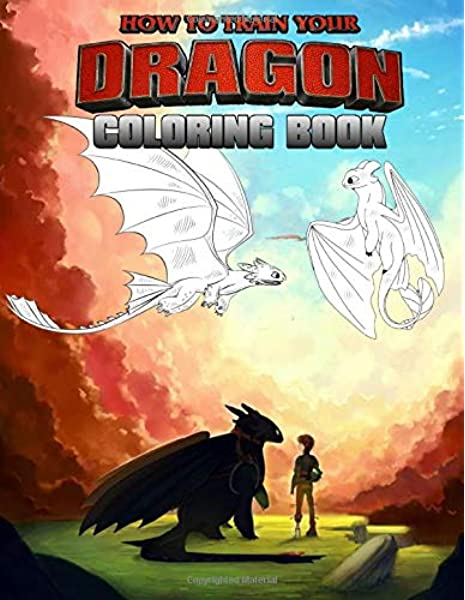 How To Train Your Dragon Book: 50+ Design About Hiccup And Friend Funny How  To Train Your Dragon Coloring Books: Laura, Henry: 9781702876292:  Amazon.com: Books