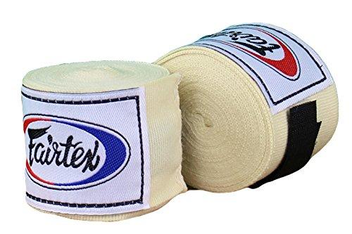 Fairtex Muay Thai - Elastic Cotton Handwraps HW2 180' Full Length Hand Wraps for all sports Muay Thai Kick boxing MMA K1 Karate Judo Kung Fu Available - Bleach
