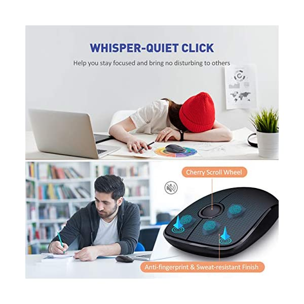 victsing wireless gaming mouse for portable computers