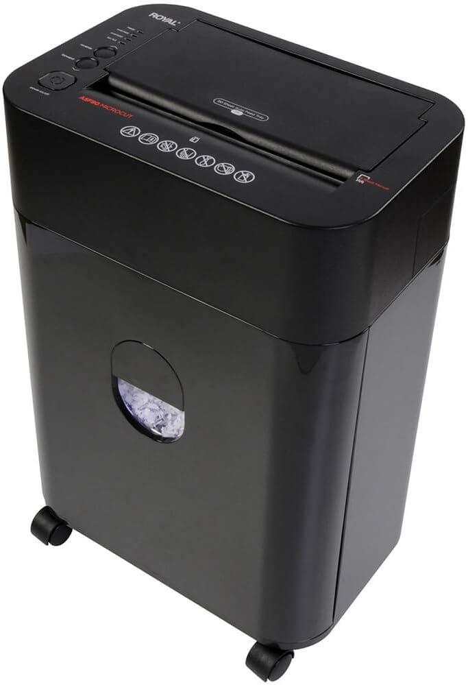 Royal ASF80 Micro-Cut Paper Shredder, Black