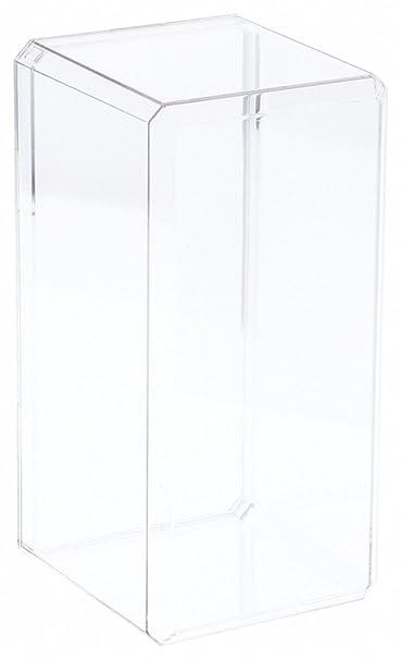 Expositor de acrílico Transparente Case (con Borde Biselado) 14,60 ...