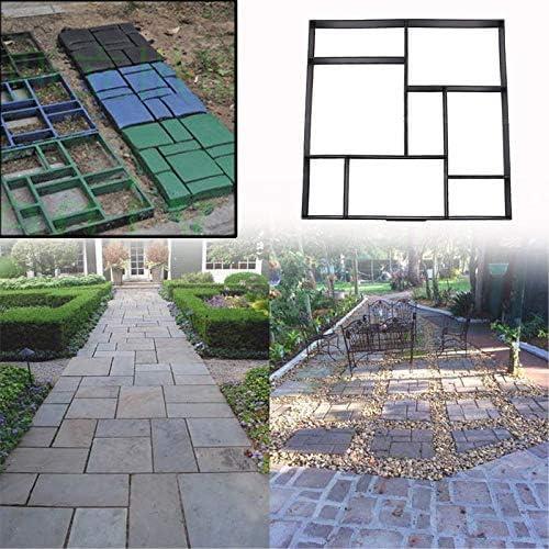 Pflasterform Kunststoff Schalungsform 3x Garten Schablone Preiswert DIY