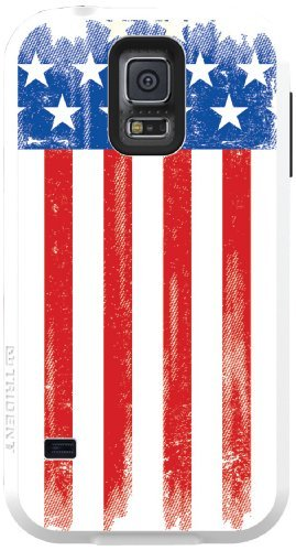 TRIDENT Samsung Galaxy S V Aegis Case - Retail Packaging - Patriot