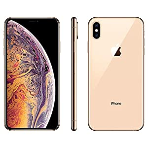 Apple iPhone XS Max, 64GB, Gold – For AT&T (Renewed)