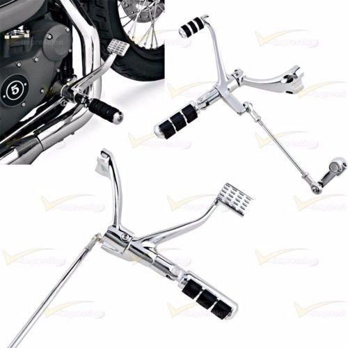 FULL SET Chrome Forward Control Peg Lever Linkages For Harley Sportster 883 1200   B077D9G7XR