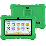 """Ainol Q88 Kids Android 7.1 OS Tablet 7"""" Display 1G RAM 8 GB ROM Light Weight Portable Kid-Proof Shock-Proof Silicone Case Kickstand Available with iWawa for Kids Education Entertainment (Green)"""