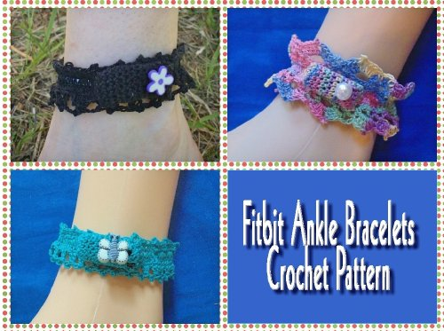 Fitbit Ankle Bracelets Crochet Pattern Kindle Edition By Sharon
