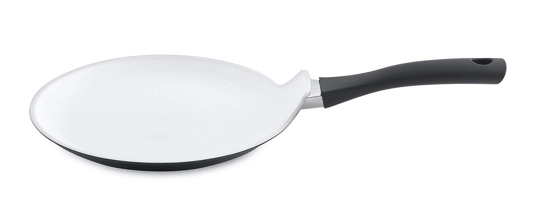Berghoff Eclipse Antiadherente con Revestimiento de cerámica inducción sartén para Crepes/sartén para Tortitas, 24 cm, Aluminio, Negro, ...