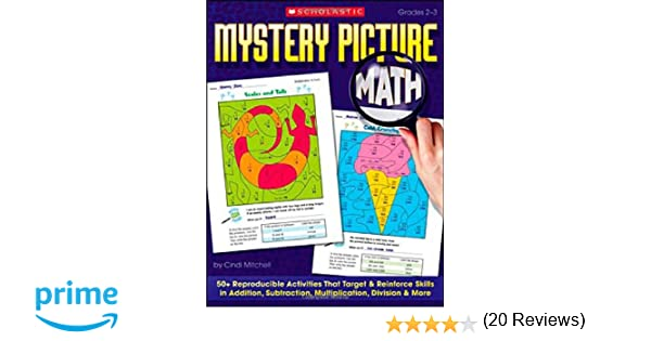 Amazon.com: Mystery Picture Math: 50+ Reproducible Activities That ...