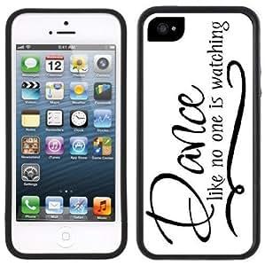Dance Like No One Is Watching Handmade iPhone 5C Black Case