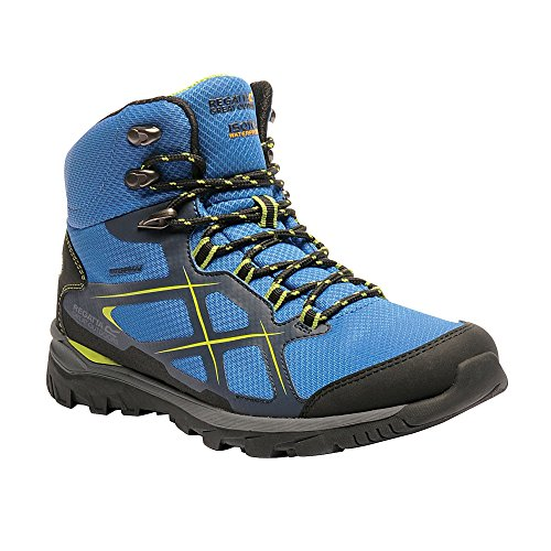 Regatta Great Outdoors Mens Kota Mid Walking Boot Navy Blazer/Lime Green JKgGjVqiY