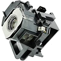 eWo\s ELPLP49 V13H010L49 Projector Lamp Bulb with Housing Replacement for Epson Power Lite Home Cinema 8350 8345