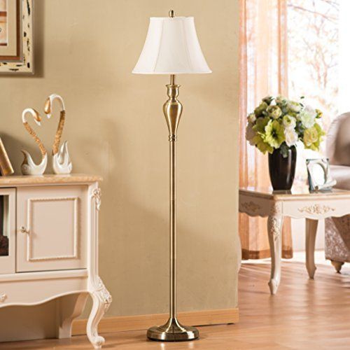 Floor Lamp,Topotdor Berg Gold Metal Antique Brass Floor Lamp 61