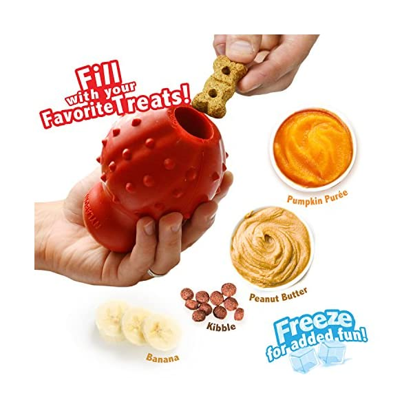 Nylabone Stuffable Chew Toy for Dogs, Small/Medium/Large 3