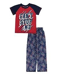 "Mac Henry Big Boys' ""Can't Stop Me"" 2-Piece Pajamas"