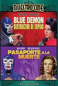 Blue Demon Destructor De Espias & Pasaporte Muerte [Reino Unido] [DVD]