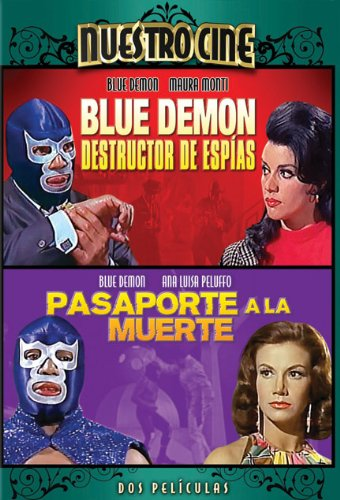 Blue Demon Destructor De Espias  Blue Demon En Pasaporte A La Muerte   Double Feature  Dvd