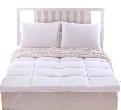 DADAO Colchones de colchón Queen Size Velvet cojín de Confort Tridimensional Individual colchón Doble,3,180