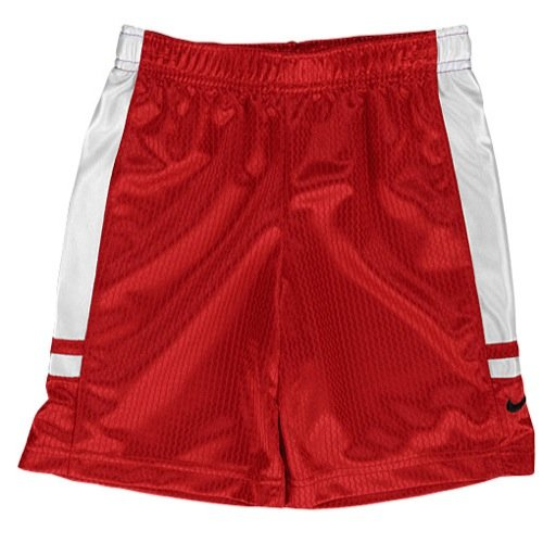 Nike Little Boys' Red Athletic Shorts
