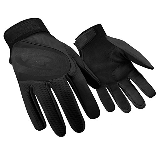 Ringers Gloves R-133 Turbo Plus Black, Essential Hand Protection, Velcro Secure Cuff Closure, X-Large