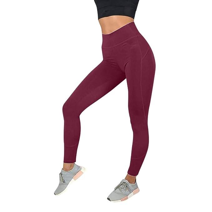 YU Ting Mujer Leggins Pantalones Deportivos,Mallas ...