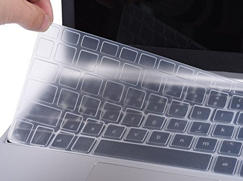 Ultra Thin Dell Keyboard Cover for 13.3 Dell XPS 13 9343 9350 9360 13.3 Inch Laptop(NOT Fit XPS 13 9365 9370), Clear