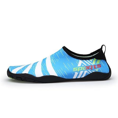 TORISKY Zapatos de Agua Deportes Acuáticos Zapatillas para Nadar Yoga Beach Surf Buceo Hombre Mujer: Amazon.es: Zapatos y complementos