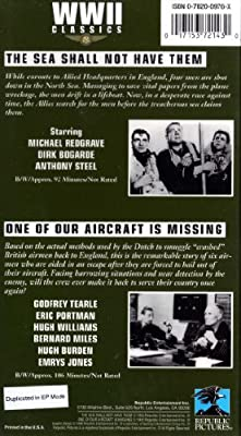 WWII Classics: The Sea Shall Not Have Them/One Of Our Aircraft Is Missing