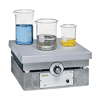 """Thermo Scientific Thermolyne Cast-Aluminum Hot Plate, 12"""" x 12"""", 120 VAC, UL-listed"""